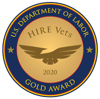 U.S. Departnemtn of Labor Gold Award